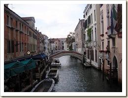 Venise pont et bateaux