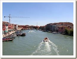 Murano, lagune de Venise