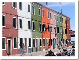 Burano, ïle lagune Venise