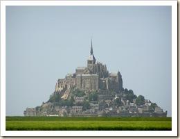 Mont Saint-Michel, vu de la route